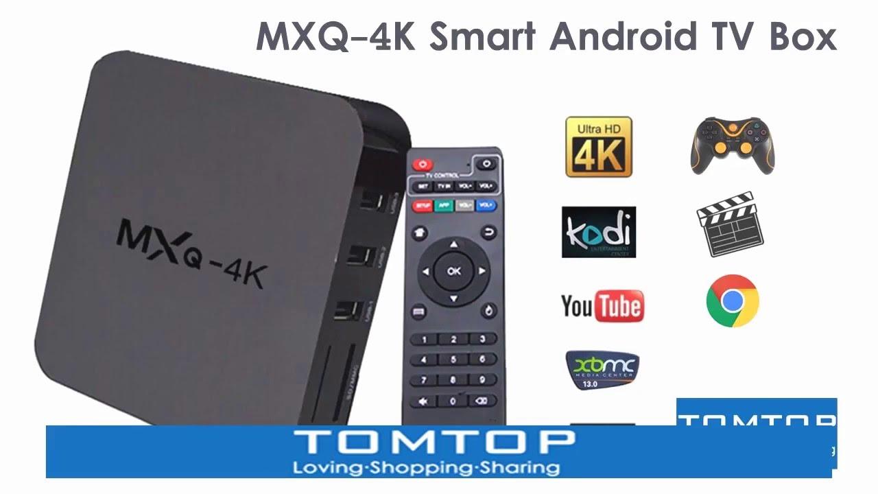 Mxq 4k Smart Android Tv Box Doovi