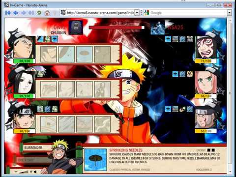 how to become genin in naruto arena