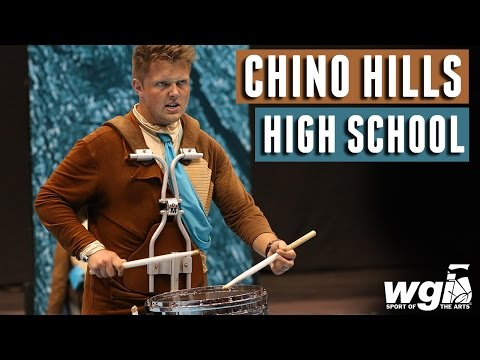 WGI 2017: Chino Hills High School - IN THE LOT
