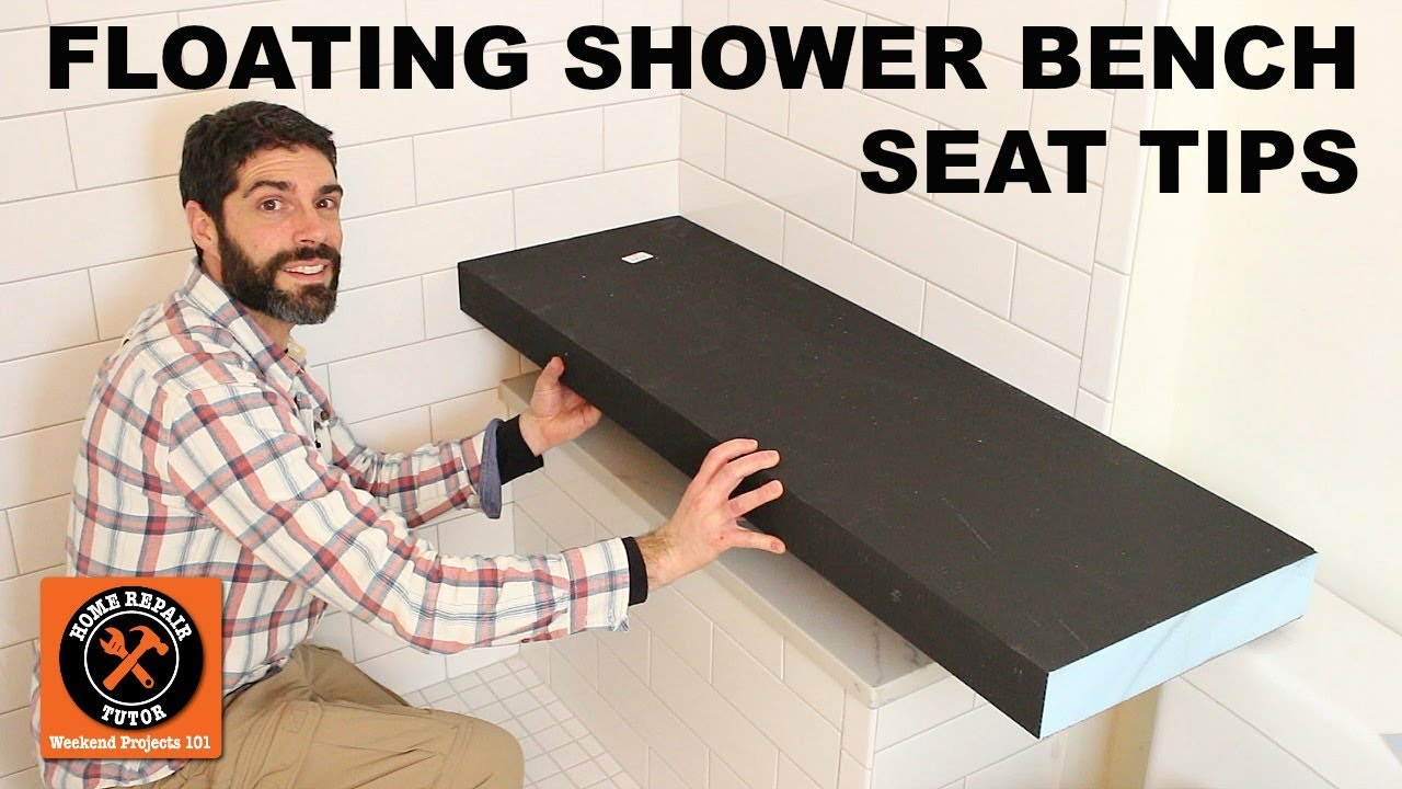 Merveilleux Floating Shower Bench Seat...Wedi Sanoasa Kit (Quick Tips)