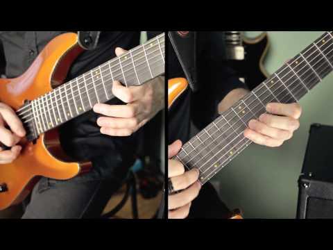 Schecter Keith Merrow KM7 / Mesa Boogie Mark V:25 - Metal test