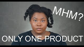 Using ONLY ONE Product to STYLE MY HAIR | Bathsheba Body Soap | Bubs Bee