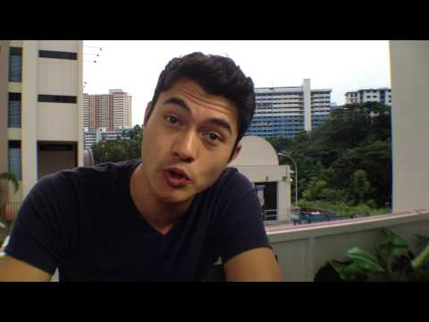 Driving Change with Caltex 2a - Henry Golding with Irene Ang in Singapore