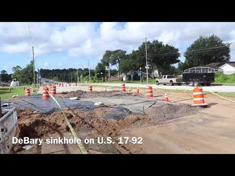 DeBary sinkhole follow