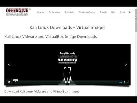 Kali Linuxダウンロード