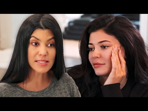 Kourtney Kardashian Disses Kylie Jenner & Her Billionaire Status In New Video
