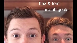 harrison osterfield & tom holland being bffs for a lil over 9 minutes