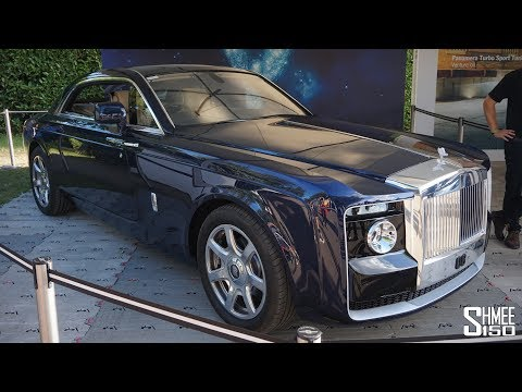 The £10 MILLION Rolls-Royce Sweptail is the MOST EXPENSIVE New Car EVER!