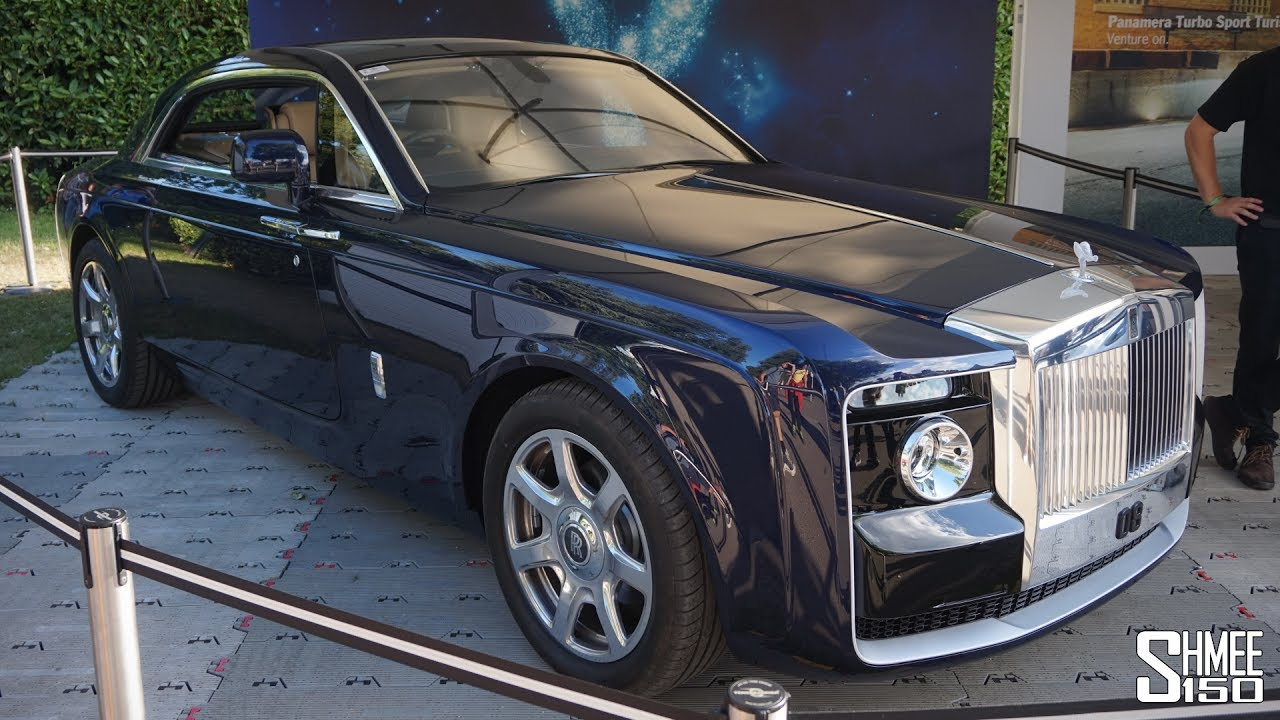 The 163 10 Million Rolls Royce Sweptail Is The Most Expensive