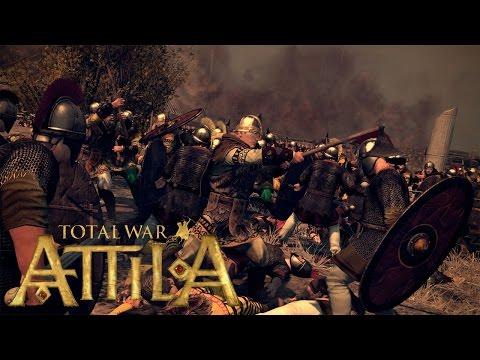 Total War: Attila - první dvě bitvy (vs AI) + první postřehy