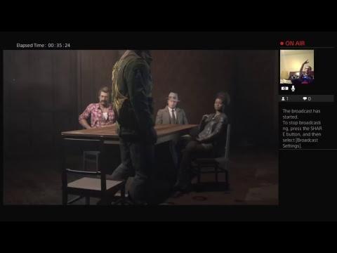 Mafia 3 First  Live with cam