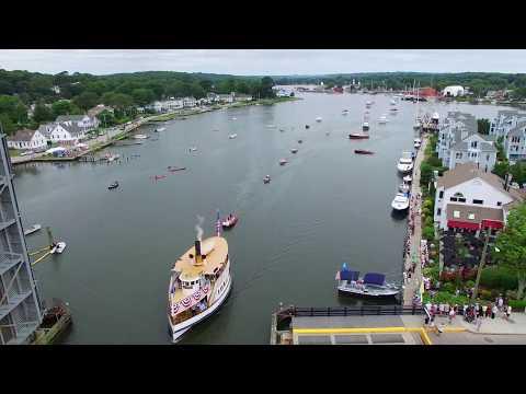 Mystic Seaport Antique & Classic Boat Parade 2017