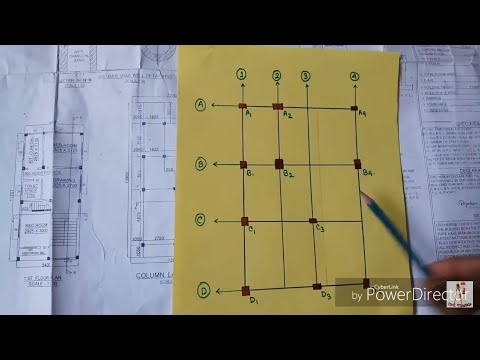 Read Civil Engineering Drawing with details (column layout)....(Part 2)