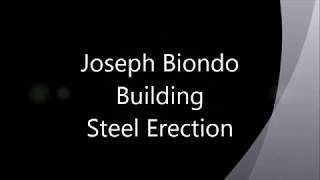 Joseph Biondo Building Steel Erection Animation