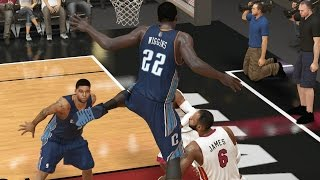 Andrew Wiggins Playoffs Round 3 Game 1 vs. Heat - NBA 2K14 MyCareer Andrew Wiggins