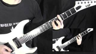 Burzum - Black Spell of Destruction Guitar Cover