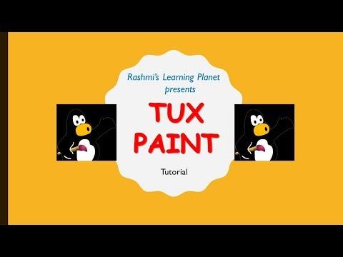 Видеоуроки tux paint