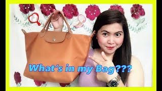 WHAT'S IN MY BAG | CHIKA MINUTE NI MHYLES || Simply Mhyles😊💕