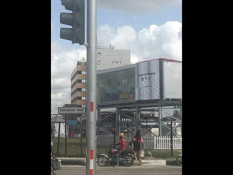 Billboard Space Turned Into Office In Lagos