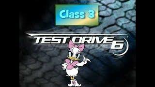 test drive 6 Tournament Race Class 3 second tour