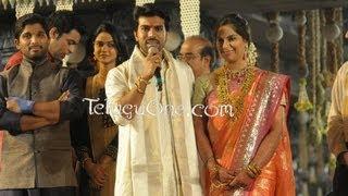 Ram Charan Upasana Wedding Reception For Mega Fans 03