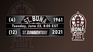 2020 Bona Cup Second Round: #4 1961 vs. #12 2021