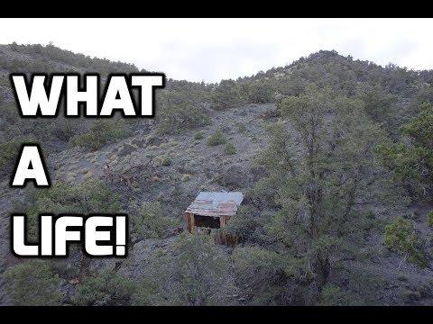 Exploring A Remote Mine And Miner's Cabin...