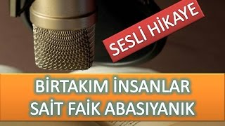 SAİT FAİK ABASIYANIK / BİRTAKIM İNSANLAR ( SESLİ HİKAYE )