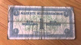 1 Schilling der Alliierten Militärbehörde von Österreich