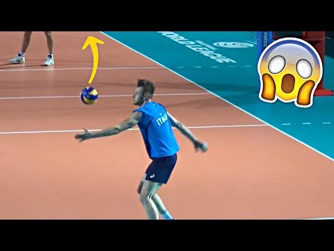 SKY BALL SERVES  Crazy Volleyball Serves HD