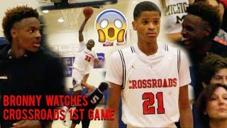 Shaqir O'Neal CATCHES FIRE, BRONNY WATCHES!  Yuuki Okubo FIRST GAME OF THE SEASON For Crossroads!