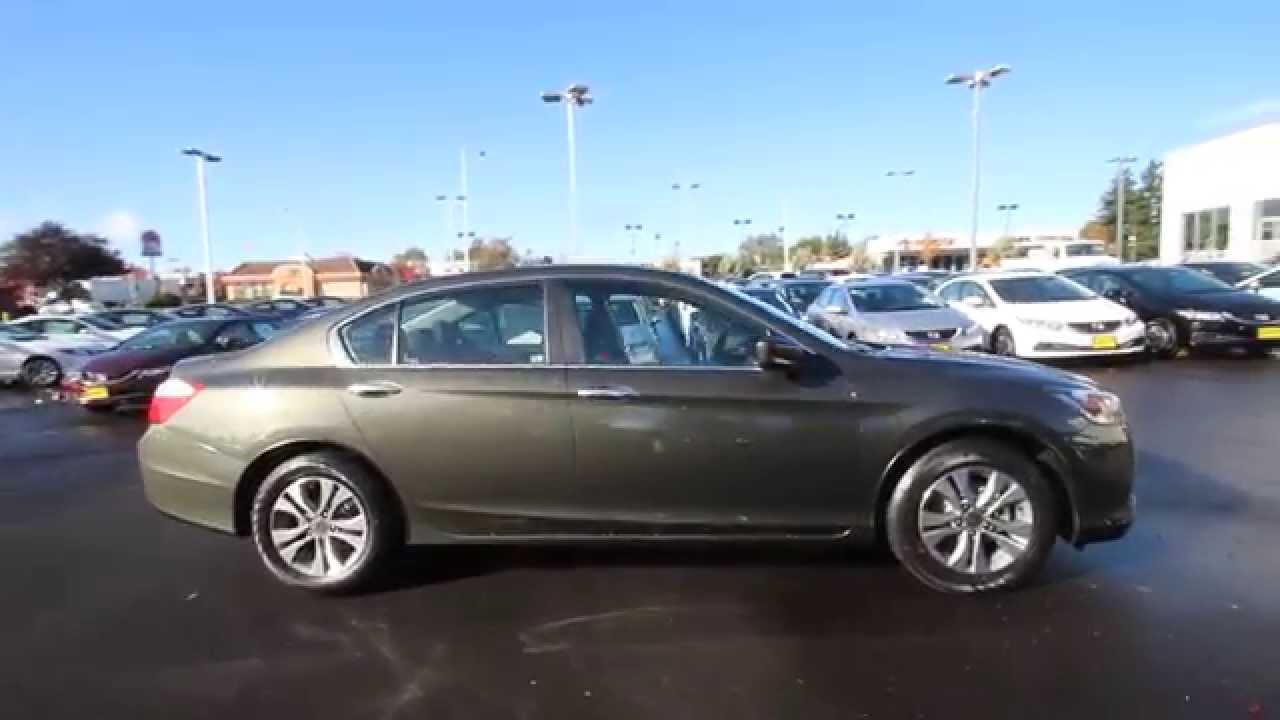 2015 Honda Accord LX | Hematite Metallic | FA039603 | Seattle | Renton - YouTube