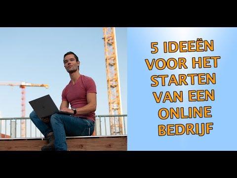 5 Ideeën voor het starten van een eigen online bedrijf!