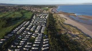 Parkdean Nairn Lochloy Caravan Park by Drone