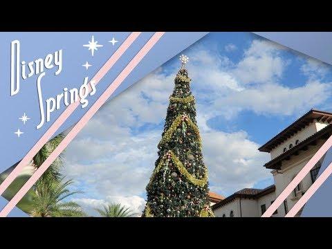 Pleasant Stroll Through Disney Springs | Walt Disney World Vlog | December 2017 | Adam Hattan