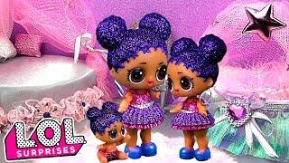 Красивая комната для куклы лол сюрприз от мамы! ЛОЛ и мальчик панк бой на море! Мультик lol dolls