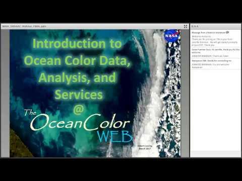 Discover NASA Ocean Color Data and Services at OB.DAAC