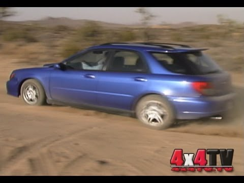 2002 Subaru WRX Test - 4x4TV Tests