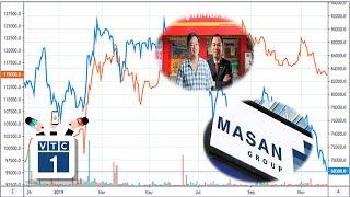Hậu sáp nhập, cổ phiếu Masan lao dốc không phanh