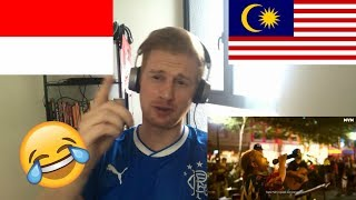 (LOL!!) Upiak - Tak Tun Tuang (NEW VER.) (Official Music Video) // INDONESIAN MUSIC REACTION
