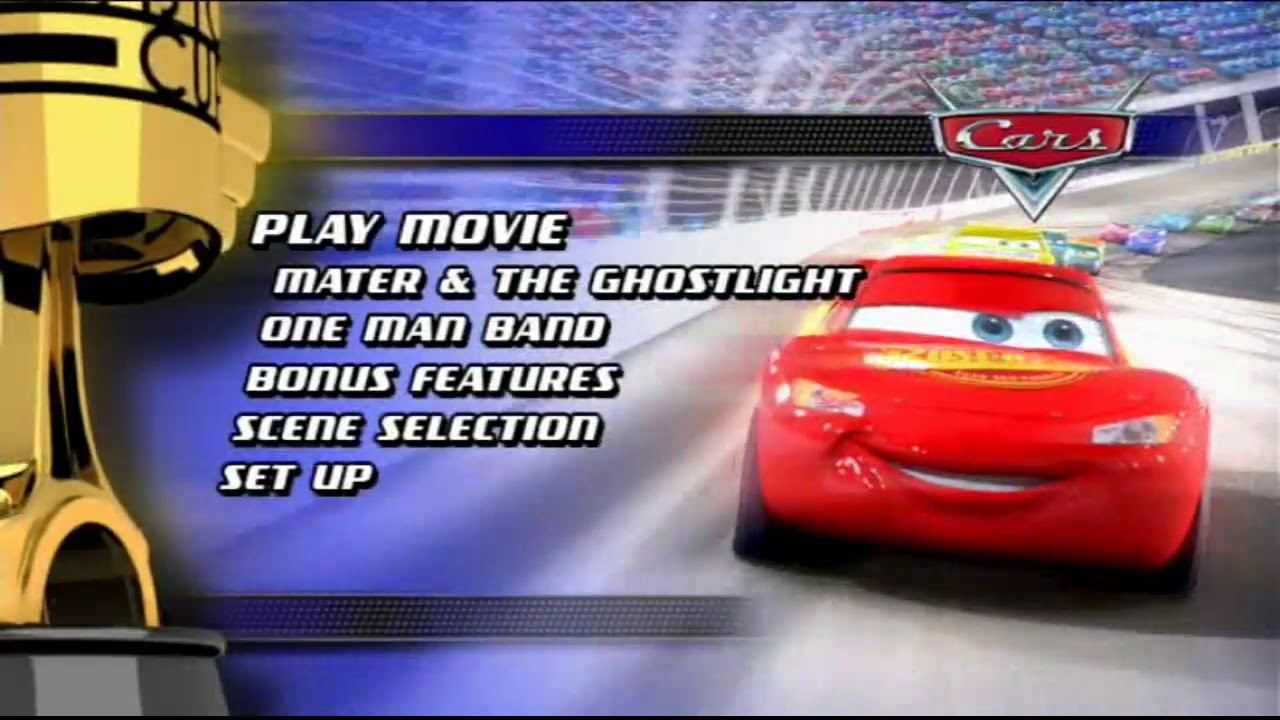 Cars Dvd Menu Youtube