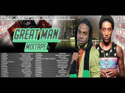 Dancehall Mixtape (April 2016) Vershon and Jahmiel