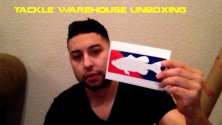 sonomabass tacklewarehouse unboxing