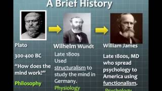 Brief History of Psychology part 1   YouTube