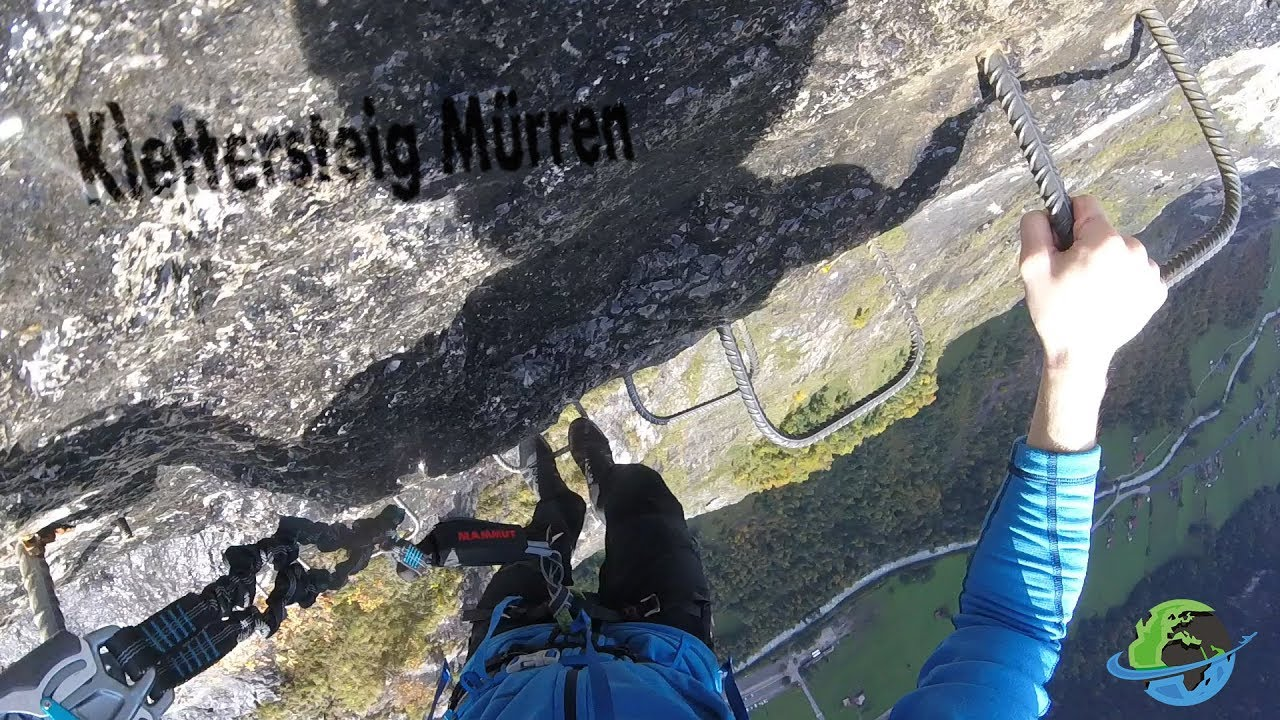 Klettersteig Mürren : Klettersteig mürren highlights youtube