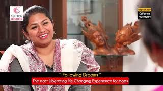 Gambar cover Following Dreams - A liberating Experience - Neeraja Kona in talk with Dr Mani Pavitra -Million Moms