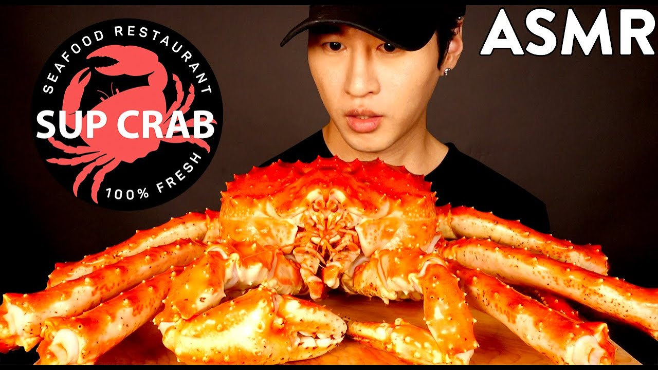 Asmr Giant King Crab From Supcrab Nyc Mukbang No Talking Eating Sounds Zach Choi Asmr Youtube You guys, this king crab was beyond delicious! asmr giant king crab from supcrab nyc