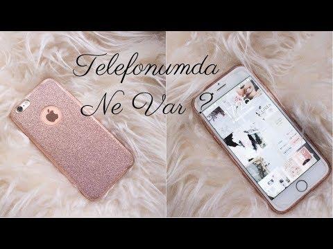 TELEFONUMDA NE VAR ? What's On My iPhone ?