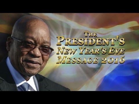Download President Jacob Zuma delivers New Year's eve message