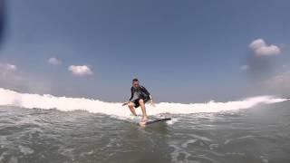 Jetz first time to Surf  (Kuta Beach, Bali)
